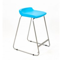 PosturaPlus 685mm Stool - Aqua Blue-Display