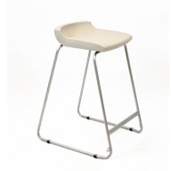 PosturaPlus 685mm Stool - Ash Grey-Display