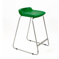 PosturaPlus 685mm Stool - Forest Green-Display