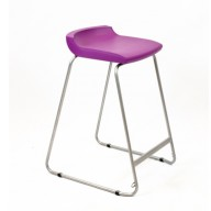 PosturaPlus 685mm Stool - Grape Crush-Display