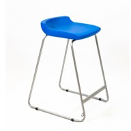 PosturaPlus 685mm Stool - Ink Blue-Display