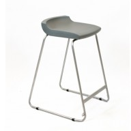 PosturaPlus 685mm Stool - Iron Grey-Display