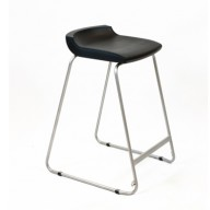 PosturaPlus 685mm Stool - Jet Black-Display