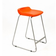 PosturaPlus 685mm Stool - Poppy Red-Display