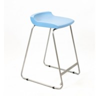 PosturaPlus 685mm Stool - Powder Blue-Display