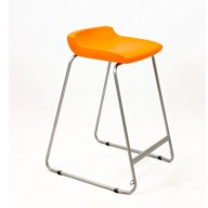 PosturaPlus 685mm Stool - Tangerine Fizz-Display