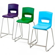 PosturaPlus High Back stool All Sizes-Display
