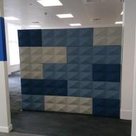 Handelsbanken - Tile / Fabric Acoustic Wall