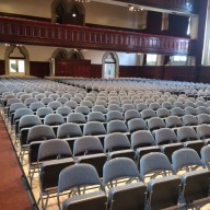 Middlesbrough Town Hall Loose Audience Seating (2)