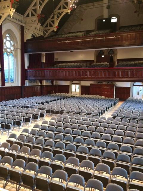 Middlesbrough Town Hall Auditorium Seating Richardsons