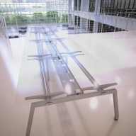 BENCH ACCESS TOP UNDER-FRAME STRUCTURE