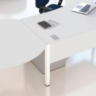 BENCH CIRCULAR CONFERENCE END TABLE