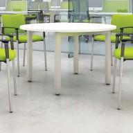 Bench Circular Meeting Table