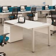 Bench Deskits Angled Desk