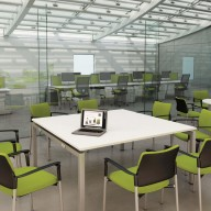 Bench Square Conference Table
