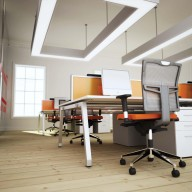 Bench Squared Fixed Top Rectangular Workstation with A Frame