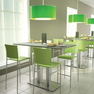 Reception coffee Table - Stools (3)