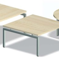 Reception coffee Table - Stools (90)