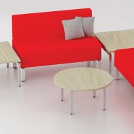 Reception coffee Table - Stools (91)
