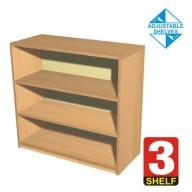 3 Shelf Bookcase - 600mm wide