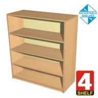 4 Shelf Bookcase - 600mm wide