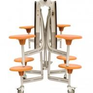 9SRL608_Round_Folded orange seats