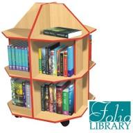 Folio 12 Shelf Mobile Library Island