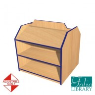 Folio 3ft Double Sided, Display Bookcase