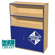 Folio 5ft Flat Top Library Cupboard