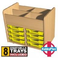 KubbyPlus 8 Tray Trolley
