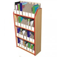Magazine File Storage Units - Holds 28 Files