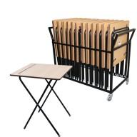 Richardsons Educational Exam Desks (2)