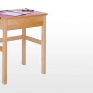 Solid Beech Locker Desks  A durable, hardwearing range of solid Beech flip top tables for the classroom.  • Choose from single or double flip top desks, all desks are manufactured from solid beech and have the option of coloured tops to brighten up the classroom environment. Both single and double desks come complete with pen groove.