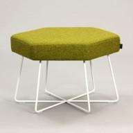 pollen-stool-white-base-upholstered-in-camira-blazer-ulster