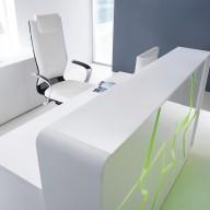 Arctic Summer Reception Counter  Reception Desk Bradford - Leeds Richardsons (20)