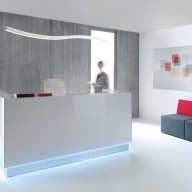 Linea Reception Counter  Reception Desk Bradford - Leeds (8)