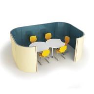 Groupo Range - Collaborative Working - gro001-square-screened-enclosure (2)