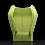 Soundstation Hemp Green Fabric LR