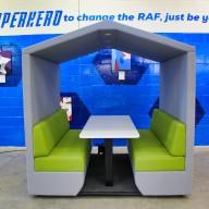RAF Leeming - Innovation Hub - Rapid Capability Office (RCO) - Northallerton DL7 9NJ - Richardsons Office Furniture & Free Space Planning & Design10