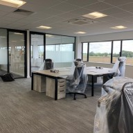 DB Broadcast - Richardson's Office Furniture Installation14